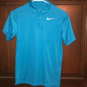 Nike dri fit pullover shirt